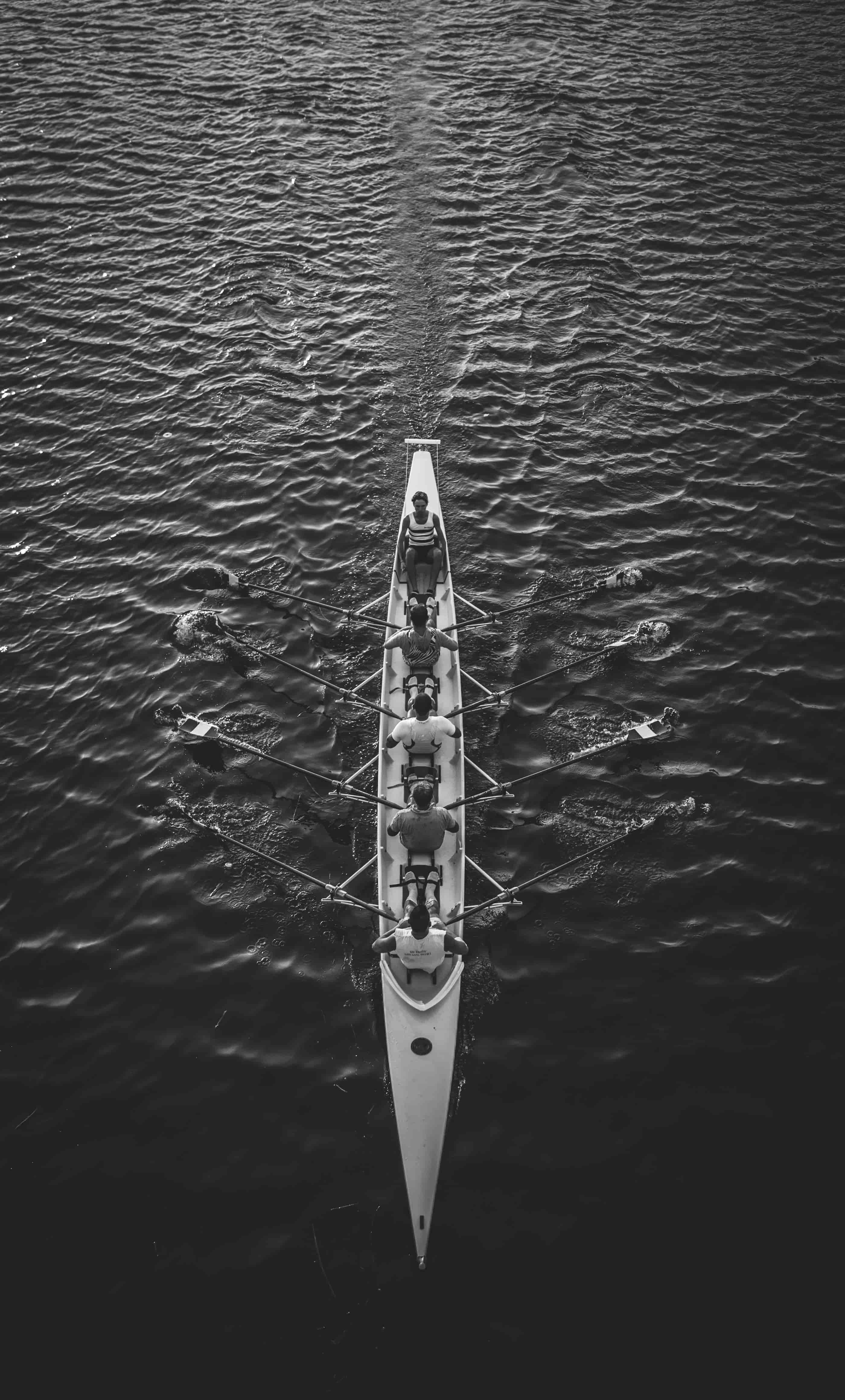 tło, łódka, woda
